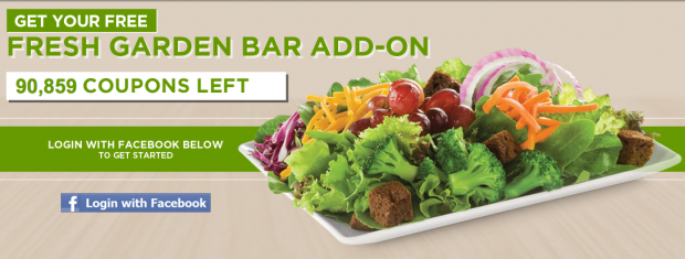 Ruby tuesday free garden bar add on coupon cutting mom - Ruby tuesday garden bar and grill ...