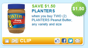 Considering how high peanut butter prices have been recently, this coupon won't last long! Right now you can get a coupon for $ off 2 Planters Peanut Butter!. Print it now and hold on to it .