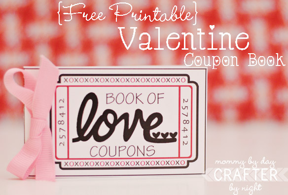 valentine idea free printable coupon book coupon cutting mom